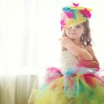 4才の女の子メイヘムが作るキュートなドレスがプロ顔負け