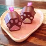 ねこあしの手作り肉球チョコレートが萌えすぎる♡
