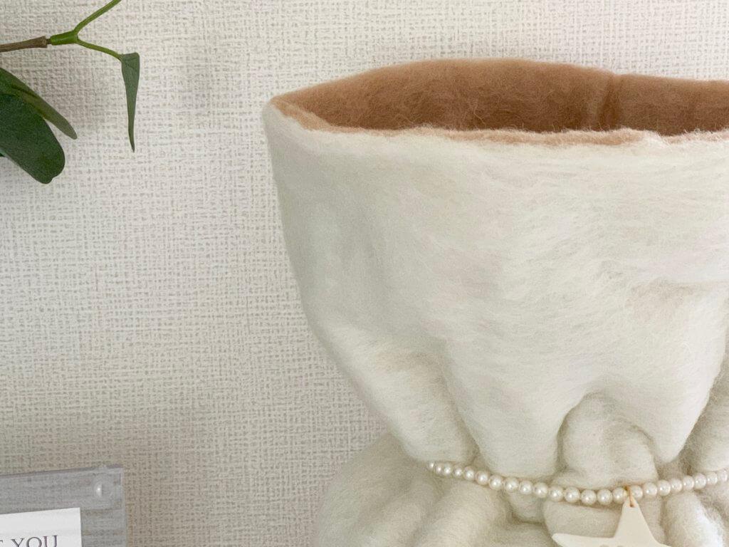 ペットの骨壷カバー